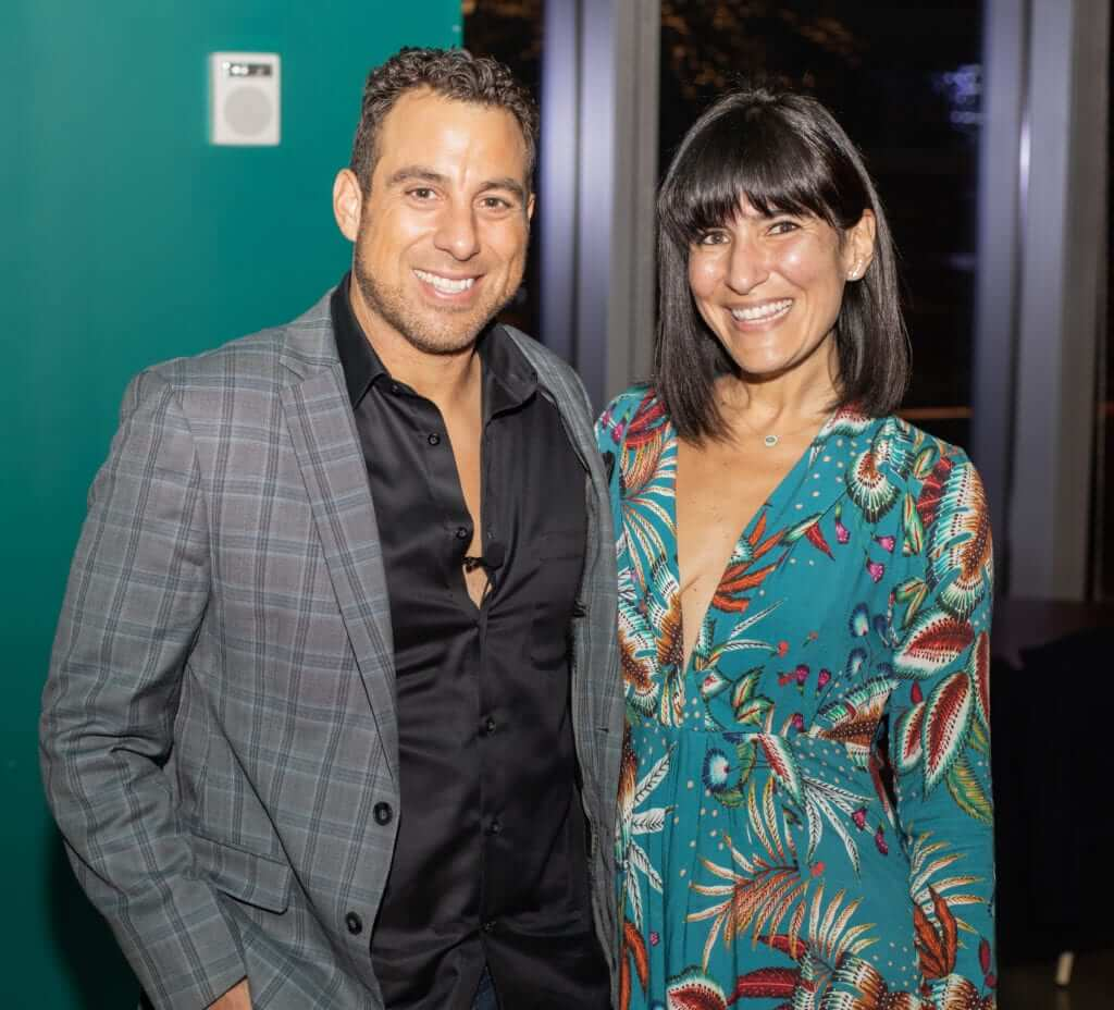 Ricky Mendez and Jordana Guimaraes