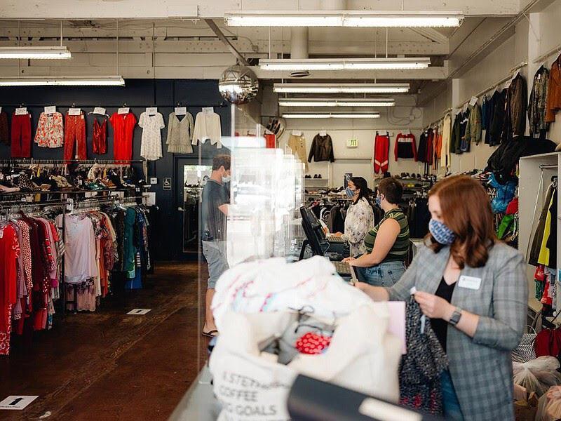 Thrift Stores Aren't as Lucky