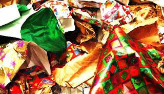 Wrapping Paper Landfills