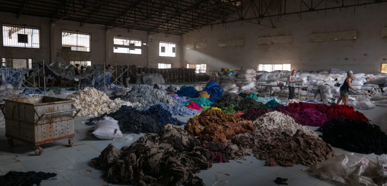 New York's Textile Waste Corresponds to The Size of The Empire State Building