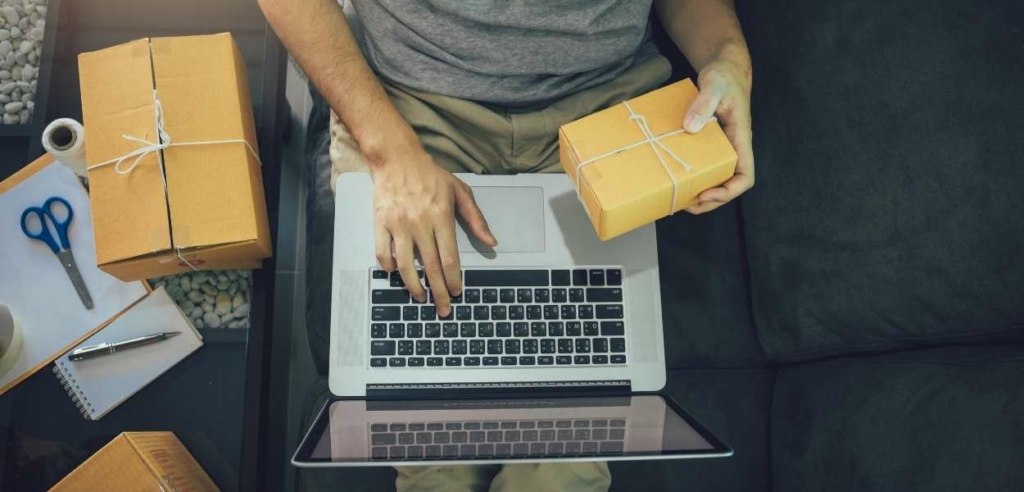 The strategy behind the e-commerce